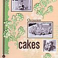 Occasion Cakes Title Page