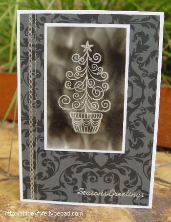 Candle Soot Card