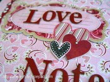 Love Notes Compendium Close-up