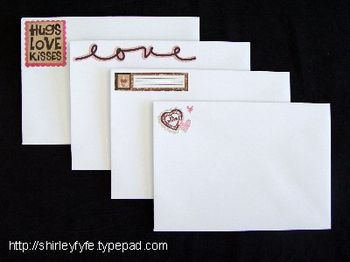 Love Notes Compendium Envelopes