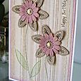 HB Card - Stamped & Sewn Blossom