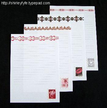 Love Notes Compendium Pages