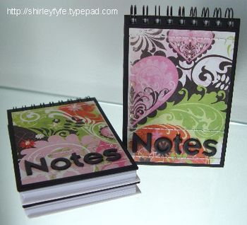 Notes Notepads