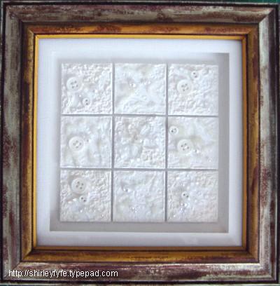 White on White Frame