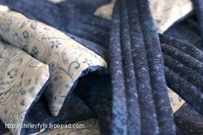Blue Bag Close-up