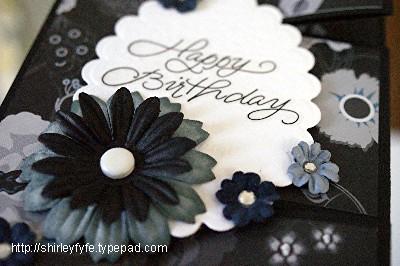 Rasberry - Black Greeting Card Close-up 1
