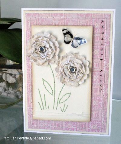 Scrunch Blossom Card 1
