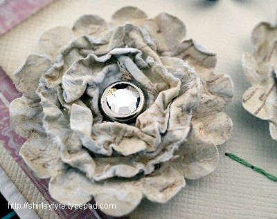 Scrunch Blossom Card 3