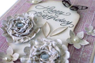 3D Scrunch Blossom Card 2