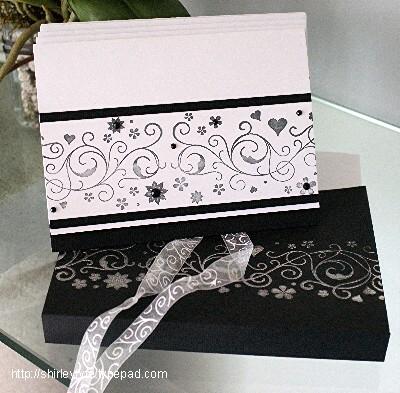 Notecard Set Inside