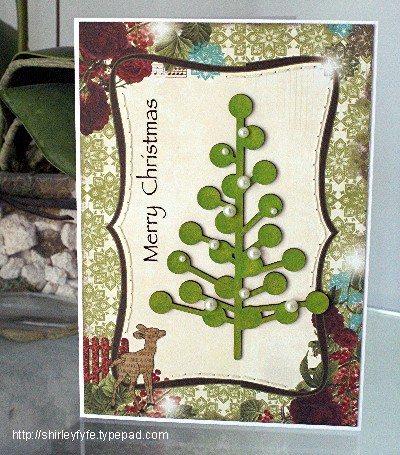 Christmas Card - Tree 1
