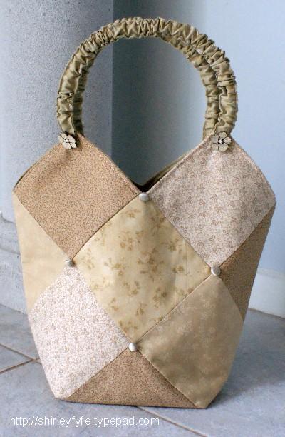 Diamond Patchwork Bag 1