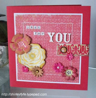 Just for You Gift Card 1