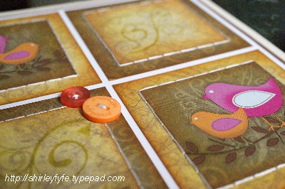 Smile Birdie Card Close-up 1