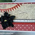 Feb 2011 - Black Flower Card