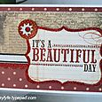 Feb 2011 - Beautiful Day Card