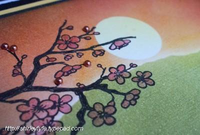 Kaszazz - Blended Sunset Card Close-up 2