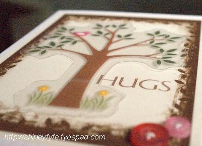 Hug Tree Card Close-up 1