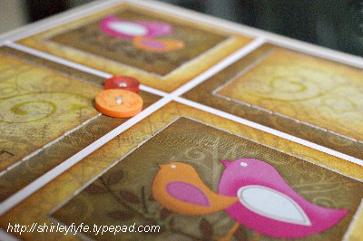 Smile Birdie Card Close-up 2
