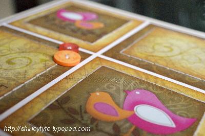 Smile Birdie Card Close-up 2