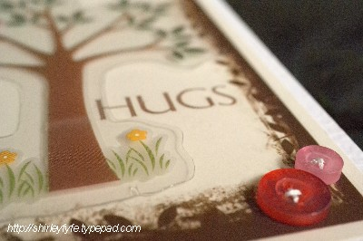 Hug Tree Card Close-up 2