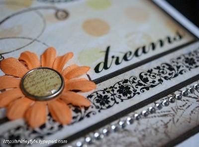 Dreams Greeting Card Close-up 1