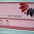 Rasberry Petite Card