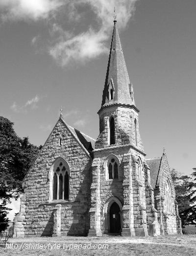 Uniting Church, Ross B&W
